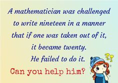 Can you help him?