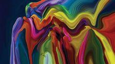 """Saatchi Art Artist Rabi Khan; New Media, """"Colour of Joy"""" #art"""