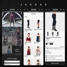 #Repost @_markbrown  Mobile pages - web design for Jaggad - @teamjaggad  #jaggad #teamjaggad #responsive #fashion #workout #compression #fitness #health #design #graphicdesign #website #web #webdesign #webdesigner #dev #ui #userinterface #userexperience #ux#uxdesign #uicollections #photoshop #adobe #behance #dribbble #minimal #inspiration #minimal #minimaldesign