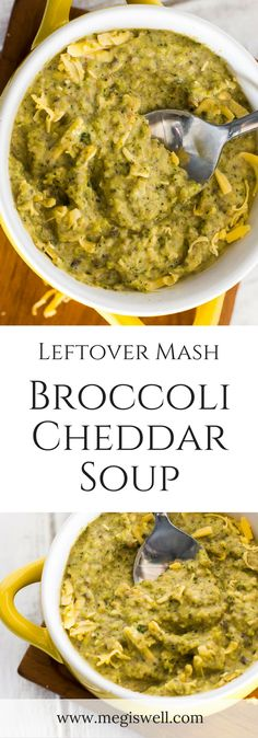 mash or mashed potatoes to make this Leftover Mash Broccoli Cheddar ...