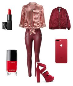 """""""work #1"""" by styler90 on Polyvore featuring mode, Chanel, River Island, NARS Cosmetics en Stussy"""