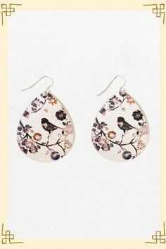 Bird Watch Teardrops by Francesca's Collection