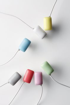 """GUM"", Canal type headphones designed by ELECOM, Japan"