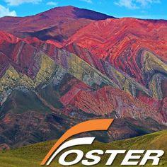 El Cerro de los Siete Colores, cerca de Punamarca, en Jujuy, en el norte de Argentina. Disfrute de las mejores excursiones que ofrece Salta y Jujuy. Reserve ahora el tour de Cerro 7 Colores o paquetes turisticos — en Pumamarca.