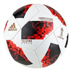 0ad53c00e0410 adidas World Cup Knockout Competition Soccer Ball - White Solar Red Black