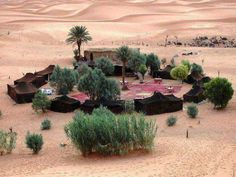 A real Bedouin camp Desert Oasis, Desert Life, Bedouin Tent, Desert Resort, Fantasy Places, Breath Of The Wild, Glamping, Beautiful Places, Around The Worlds