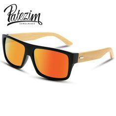 f181f8e1f53 2017 New Bamboo Sunglasses Men Wooden Sun glasses Women Brand Designer  Mirror Original Wood Glasses Oculos