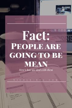 It's a well known fact. People can be mean. When someone intentionally directs malice towards you, how are you as an adult supposed to handle these things? Dealing With Mean People, Make You Feel, How To Get, Conflict Resolution, You Youtube, When Someone, Priorities, Self Care, Your Skin