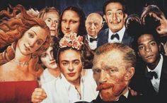 van gogh e monalisa Art Memes, Memes Arte, Mona Lisa, Murciano Art, Art Du Collage, Art Collages, Frida Art, Photocollage, Ex Machina
