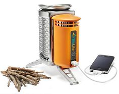 BioLite has combined a stove and a power charger in one innovative design, BioLite CampStove.