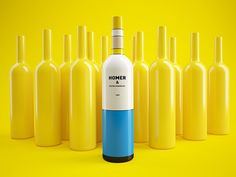 #wine #design #Mondrian