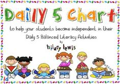 Rockin' Teacher Materials: Daily 5 Organization