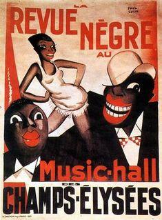 Paul Colin era un gran vividor, conocido por organizar las fiestas más memorables de todo París. Su cartel de la Revue Nègre (1925) lanza a la fama a Joséphine Baker, estrella femenina de la compañía negra de Harlem. Colin diseña los carteles de los teatros de moda como Champs Élysées o el Folies Bergère, y también diseña vestuarios y decorados
