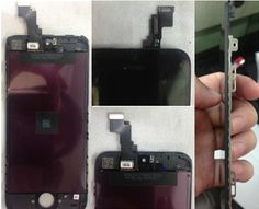 Apple iPhone 5S main board and panel.