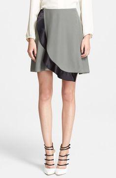 Prabal Gurung Silk Wrap Circle Skirt at Nordstrom.com.