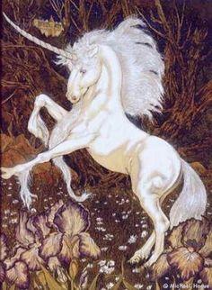 'Unicorns' by Michael Hague.