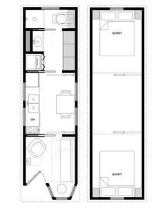 Tiny House On Wheels Two Lofts tiny house floor plans on wheels | floor plans. get rid of one of