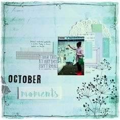 October and Me Polaroid Film, Scrapbook, In This Moment, Projects, Blog, Log Projects, Blue Prints, Scrapbooking, Blogging