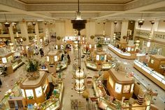 Wanamaker's department store in Philly.