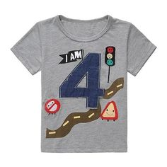 LIKESIDE Toddler Boys Girls Letter Print T-Shirt Tops+Pants Trousers Outfits Set