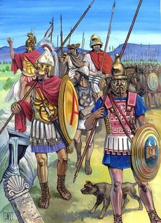 Hoplites in the service of Alexander the Great.