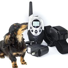 1000 Yard Rechargeable Waterproof Remote Electric Training Collar - Shock/Vibrate/Beep 3 Modes Control System For Dog Doggy Puppy - http://www.thepuppy.org/1000-yard-rechargeable-waterproof-remote-electric-training-collar-shockvibratebeep-3-modes-control-system-for-dog-doggy-puppy/