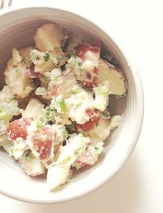 potato salad: vegan & gluten free! (4)