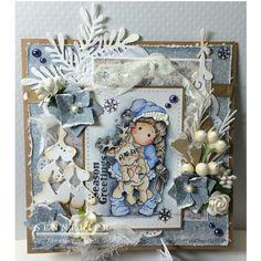Magnoliacard by Annette van Breda
