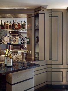 Bar Detail - Stephen Clasper Interiors
