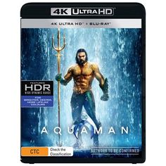 """An action-packed adventure that spans the vast, visually breathtaking underwater world of the seven seas, """"Aquaman"""" reveals the origin story of half-human, half Underwater World, Aquaman, Movies And Tv Shows, Movie Tv, Action, Adventure, The Originals, Movie Posters, Group Action"""