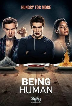 Being Human- the new tv show I am binge watching on Netflix. Pretty darn good! -Holly