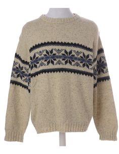 Unique brown (circa) nordic jumper with a round neck. Jumper, Men Sweater, 1990s, Pullover, Brown, Unique, Sweaters, Fashion, Breien