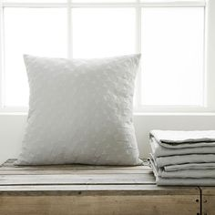 Leh Cushion Cover 60x60cm, Grey £26. - RoyalDesign.co.uk