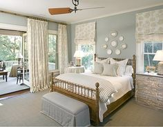 spacious bedroom, love the attached sun room