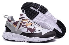 new product 40318 ad1c0 2015 Newest Designed Nike Air Huarache Utility Run Shoes Camouflage Gray  Black Mens Sneaker Online Store, Price   99.00 - Air Jordan Shoes, Michael  Jordan ...