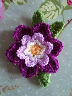 Spring Flower: free crochet pattern