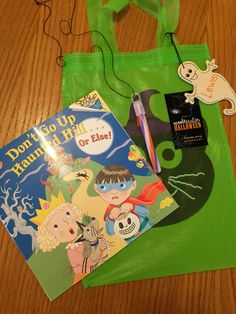 Loot bags for the little kids.