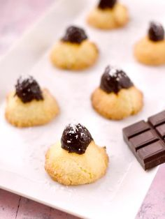 Rochers à la noix de coco - Recette de cuisine Marmiton : une recette