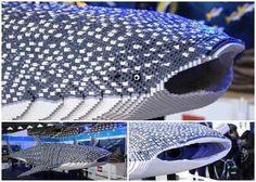 Lego whale shark.
