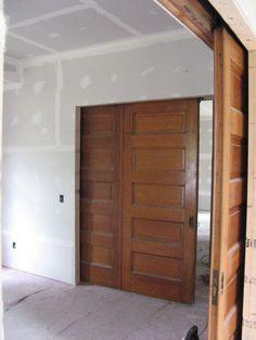 Double 5 Panel Doors. Panel DoorsWood DoorsSolid ...