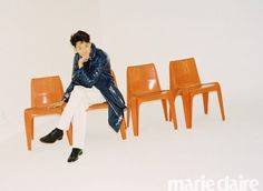 *sigh* We still miss Lee Jung Shin's (CNBlue) long hair. He has an interview and pictorial for the February issue of Marie Claire and he looks…ornery! We love this guy and although we h… Blue Lee, Cn Blue, Kang Min Hyuk, Lee Jong Hyun, Jung Yong Hwa, Lee Jung, Sulli, Korean Entertainment, Marie Claire