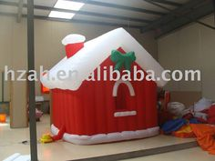 Outdoor Xmas House Inflatable Xmas House for Christmas Decoration Sale Only For US $385.00 on the link