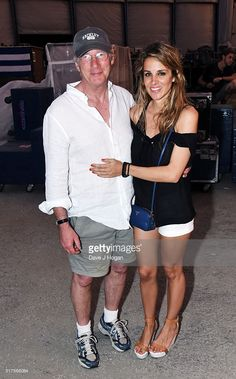 Richard Gere (L) with girlfriend Alejandra Silva backstage during The  Rolling Stones concert at Ciudad Deportiva on March 25 9ce089abe03