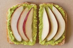 Pear and Avocado Sandwiches