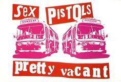 Sex Pistols - Jamie Reid design