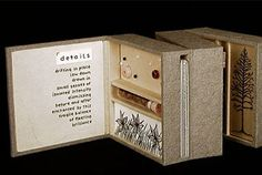 A box book from Flying Paper Press, one of the Codex book fair's 138 exhibitors