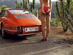 Porsche and the little red #porsche