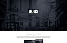 Boss - multi-purpose #Joomla 3.x #template solution that displays content in #clean way.