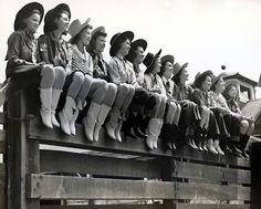 cowgirls vintage
