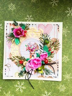 Kartka swiateczna Boże Narodzenie Christmas cards by KastelOfArt